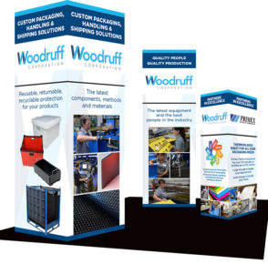 Woodruff Corporation Tradeshow Booth