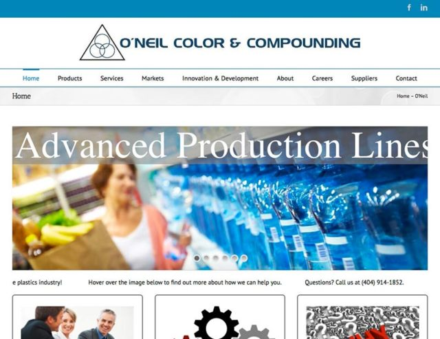 O'Neil Color Website