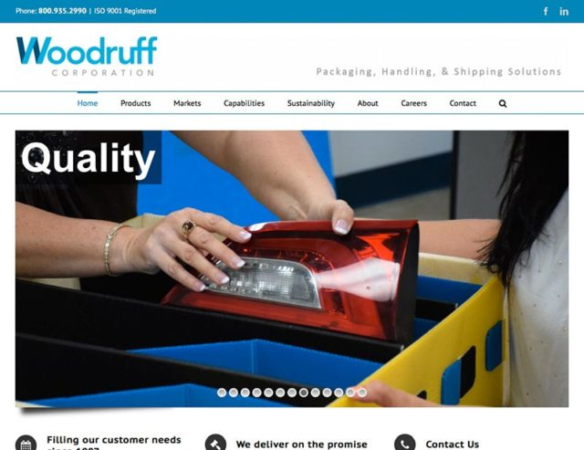 Woodruff Corporation Website
